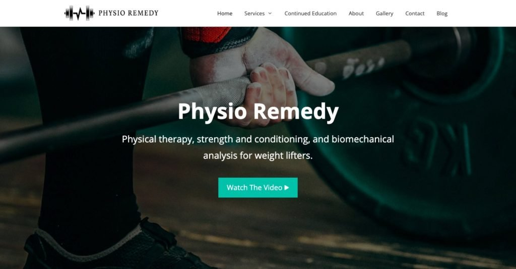 Physio Remedy Project