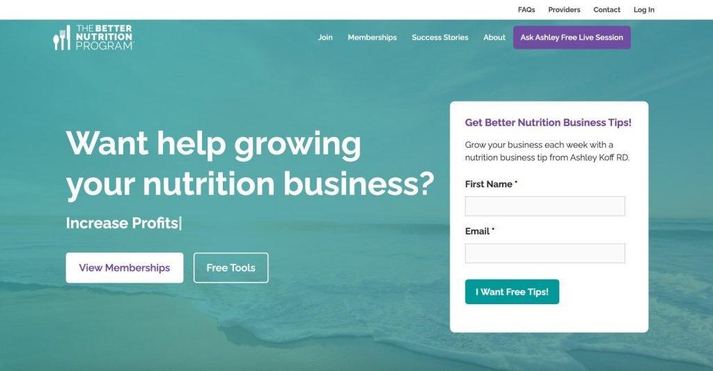 The Better Nutrition Program